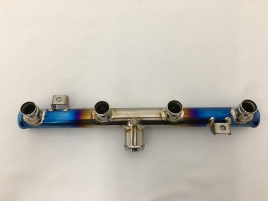 Kファクトリー ケイファクトリー K-FACTORY ZRX1200 -'09/ZRX1200 DAEG用チタン製シリンダーインレット 単品 ポリッシュ 103OZEN009L