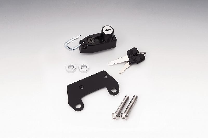 キジマ (KIJIMA) 303-1515 헬멧 자물쇠 블랙 FZ-1