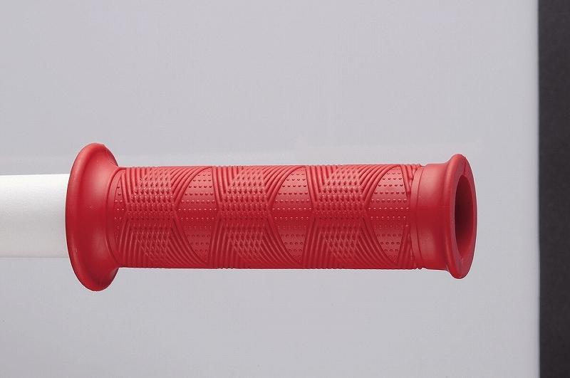 キジマ KIJIMA 201-6491 グリップ サムライ SALE 注文後の変更キャンセル返品 貫通タイプ 120mm レッド 22.2mm