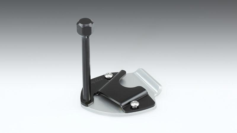 キジマ 213-049 サイドスタンド ワイドプレートエクステンション 格安 価格でご提供いたします シルバー 銀 キックスタンド 日本限定 ブラック 黒 CRF1100L アフリカツイン