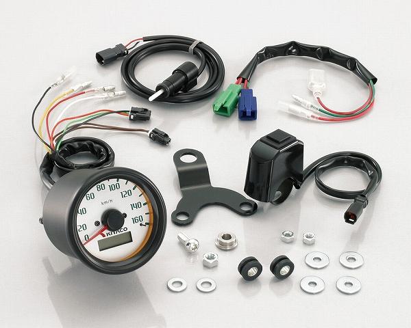 キタコ 752-1125100 スピードメーターキット φ60 160Km/h ズーマー キタコ 752-1125100