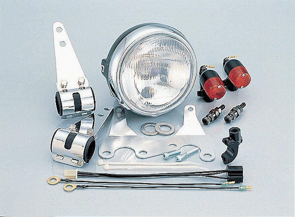 キタコ 810-1082210 ネイキッド マルチヘッドライトキット ヘッドライト/丸ウインカー NS-1'95 キタコ 810-1082210