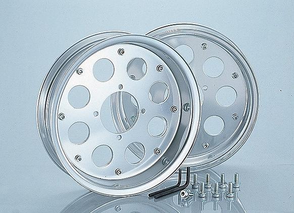 キタコ 509-1014000 アルミホイールセット (10インチ) シルバー モンキー キタコ 509-1014000
