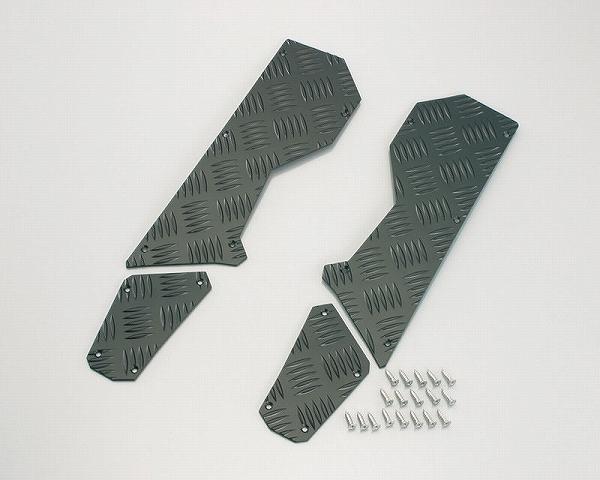 キタコ 538-0412010 アルミステップボード ブラック BW'S125 キタコ 538-0412010