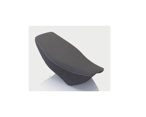 キタコ 610-1432010 アイディアルシート ブラック/ホワイトステッチ GROM グロム