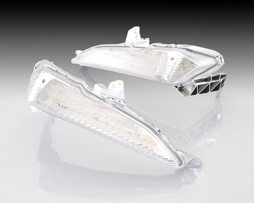 キタコ 807-0422300 LEDウインカーランプ フロント クリア TRICITY