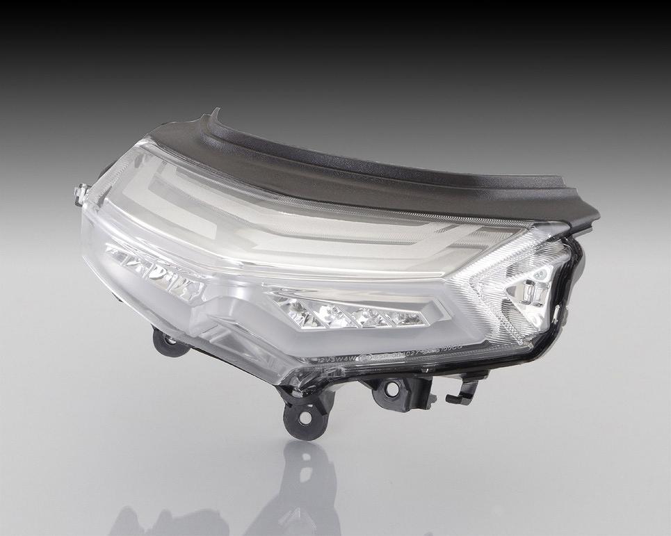 キタコ 809-0421300 LEDテールランプセット クリア マジェスティ-S