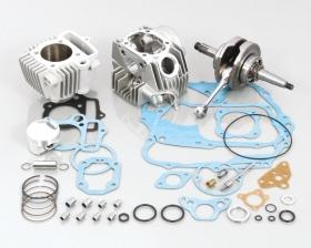 キタコ 215-1014225 スタンダード ボアアップキット メッキ 108cc タイプ2 ホンダ モンキー ゴリラ(A/Lクランク)