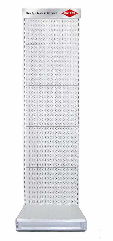KNIPEX クニペックス 00193066 展示パネル 穴付きパネル 照明灯なし 500×2200×660mm