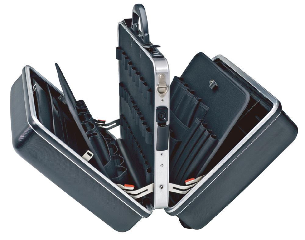 KNIPEX クニペックス 002140LE ツールケース ビッグツイン 内寸(mm):W445xH(105+105)xD350mm 耐荷重:30kg 質量(g):7550