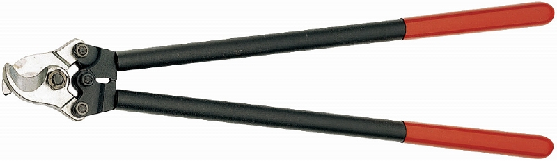 KNIPEX クニペックス 9521-600 ケーブルカッター 切断能力(銅・アルミケーブル;φmm):27 切断能力(銅・アルミケーブル;mm2):150 切断能力(AWG):5/0 質量(g):1836