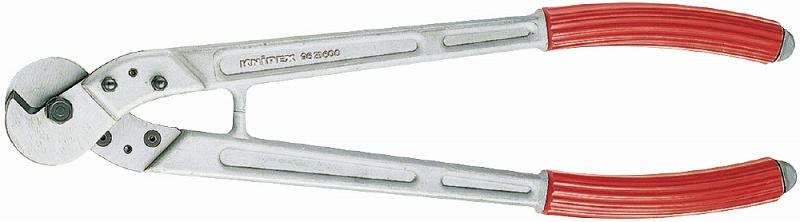 KNIPEX クニペックス 9571-445 ケーブルカッター 切断能力(銅・アルミケーブル;mm2):95 切断能力(ワイヤーロープφmm):10 切断能力(丸棒;φmm):7 切断能力(AWG):3/0 質量(g):1083