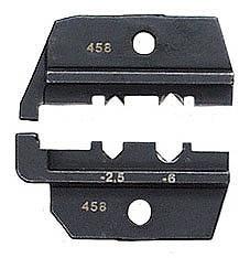 KNIPEX クニペックス 9749-64 圧着ダイス (9743-200用) 圧着能力(mm2):1.0-6.0 圧着能力(AWG):17-10 質量(g):73