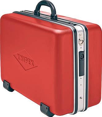 KNIPEX クニペックス 989914LE ツールケース 内寸:W445xH(105+105)xD350mm 耐荷重:30kg 質量(g):8235