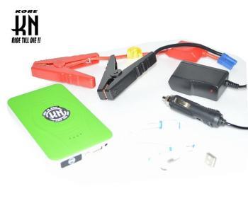 KN企画 BATT00-JM01-EN モバイルジャンプスターター 携帯非常バッテリー 売店 ランキングTOP10 グリーン