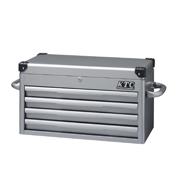 KTC EKR-1004 トップ チェスト (4段4引出) シルバー