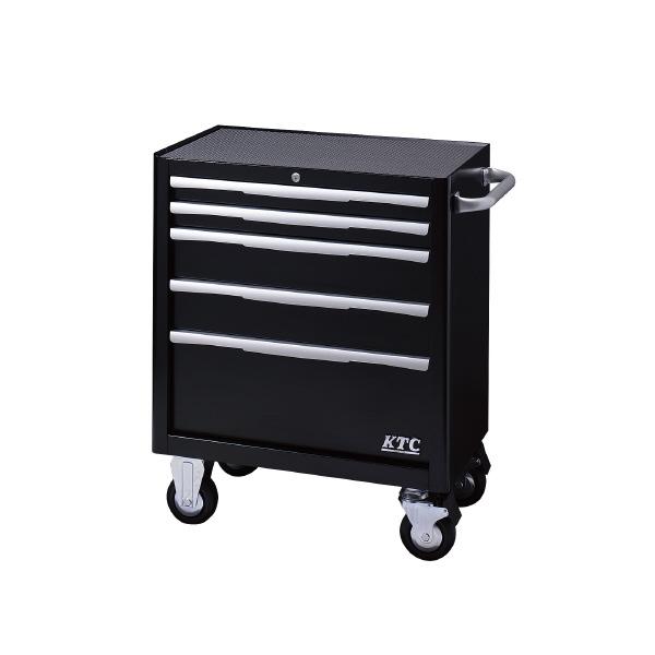 KTC EKW-1005BK ローラーキャビネット (5段5引出) ブラック