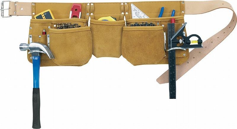 KUNY'S クニーズ AP-630 腰袋両側ベルト 584×254mm 工具入れ