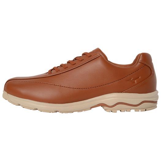 MIZUNO ミズノ B1GC1818 LD40IV SW ウォーキングシューズ/靴 メンズ ライトブラウン×ベージュ 27.5cm