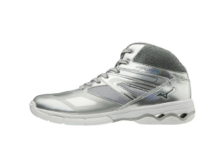 MIZUNO ミズノ K1GF1874 ウエーブダイバーズDE/ダンスエクササイズシューズ/靴 シルバー 24.5cm