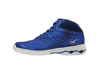 MIZUNO ミズノ K1GF1874 ウエーブダイバーズDE/ダンスエクササイズシューズ/靴 ブルー 24.5cm