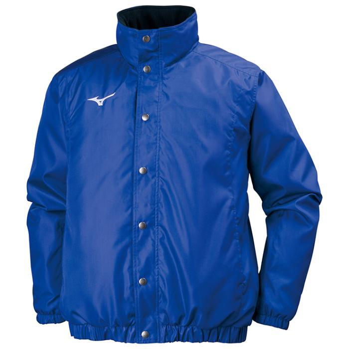 MIZUNO ミズノ 32JE7551 中綿ウォーマーシャツ 長袖 ユニセックス メンズ/レディース サーフブルー XLサイズ