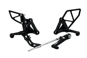 モリワキ 05060-2B1R7-00 バックステップキット ブラック CBR650R/CB650R
