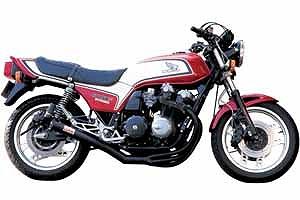 モリワキ A100-109-2411 ワンピース エキゾーストマフラー ブラック マフラー CB750F