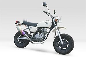 モリワキ 01810-L31E8-00 ZERO TD エキゾーストマフラー アノダイズドチタン マフラー APE50 エイプ50