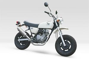 モリワキ 01810-L21E8-00 ZERO TD エキゾーストマフラー ホワイトチタン マフラー APE50 エイプ50