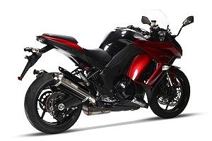 モリワキ 01810-6N246-00 MXR ツイン スリップオンマフラー ブラックパール マフラー ニンジャ1000/Z1000