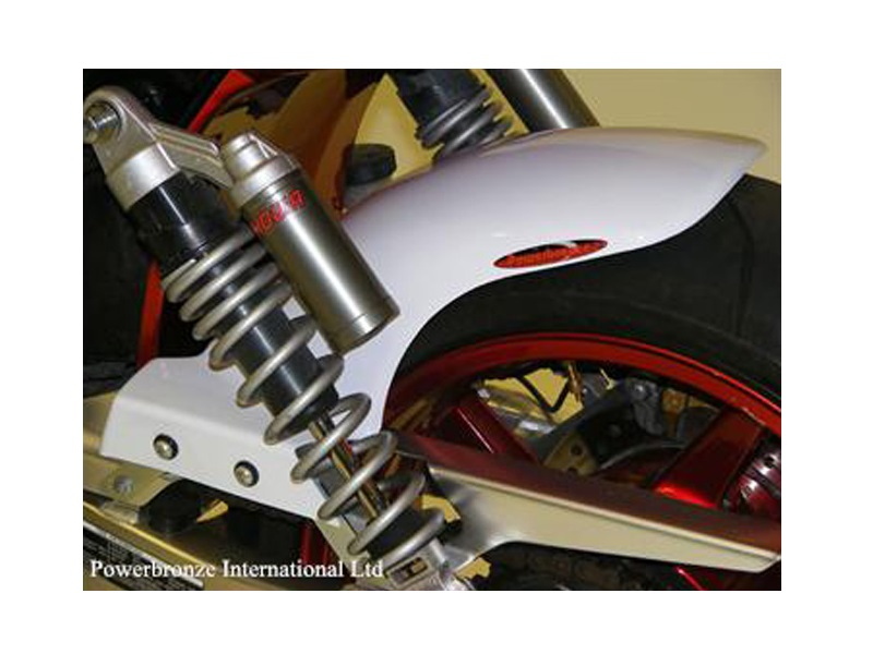 Power Bronze パワーブロンズ 300-H116-004 HUGGER リアインナーフェンダー ホワイト ノンメッシュ CB1300SB/SF/ST(03-12) 300-h116-004