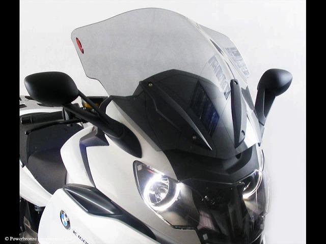 Power Bronze パワーブロンズ 420-B120-001 フリップスクリーン BMW K1600GT/K1600GTL (11- ) ライトスモーク 420-b120-001