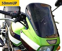 Power Bronze パワーブロンズ 420-K134-002 フリップスクリーン ZRX1100/ZRX1200R/ZRX1200 DAEG ダークスモーク 420-k134-002