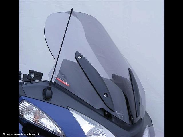 Power Bronze パワーブロンズ 420-T111-001 フリップスクリーン TRIUMPH トライアンフ トロフィー1200 (13- ) ライトスモーク 420-t111-001