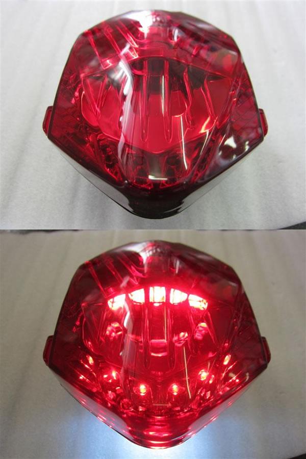 Odax オダックス JST-351534C-L-R LEDテールライト レッド NC700 S/X/INTEGRA(インテグラ) (12-13) Odax オダックス jst-351534c-l-r