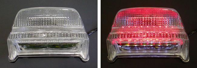Odax オダックス JST-352002-L LEDテールライト クリア ZRX1100/1200(-08)/400 Odax オダックス jst-352002-l