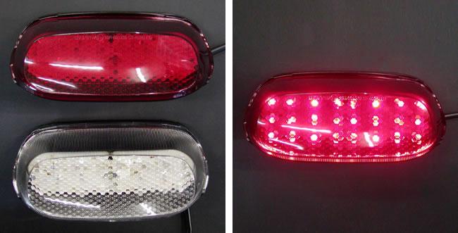 Odax オダックス JST-352010-L LEDテールライト クリア ZZR1100D/400N(93-) Odax オダックス jst-352010-l