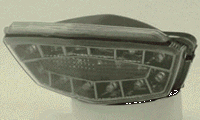 Odax オダックス JST-352018C-W-S インテグレートテール スモーク Ninja(ニンジャ)250R(08-12) Odax オダックス jst-352018c-w-s
