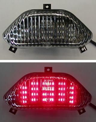 Odax オダックス JST-353006-L LEDテールライト クリア GSF1200/750(95-00) Odax オダックス jst-353006-l