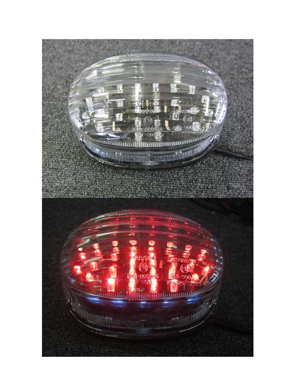 Odax オダックス JST-353027-L LEDテールライト クリア GSX400/1200 イナズマ/デスペラード400/800 Odax オダックス jst-353027-l