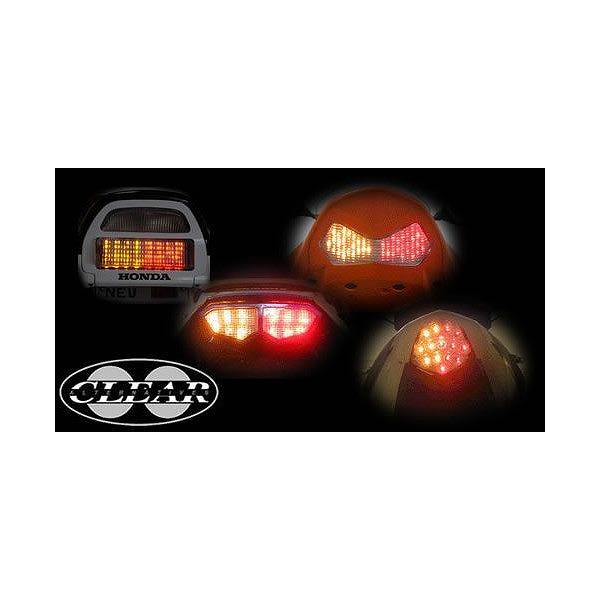 ODAX JST-353537-W LEDテールライト インテグレートテール DS400/1100(ALL) バリオス(ALL) クリア Odax オダックス jst-353537-w