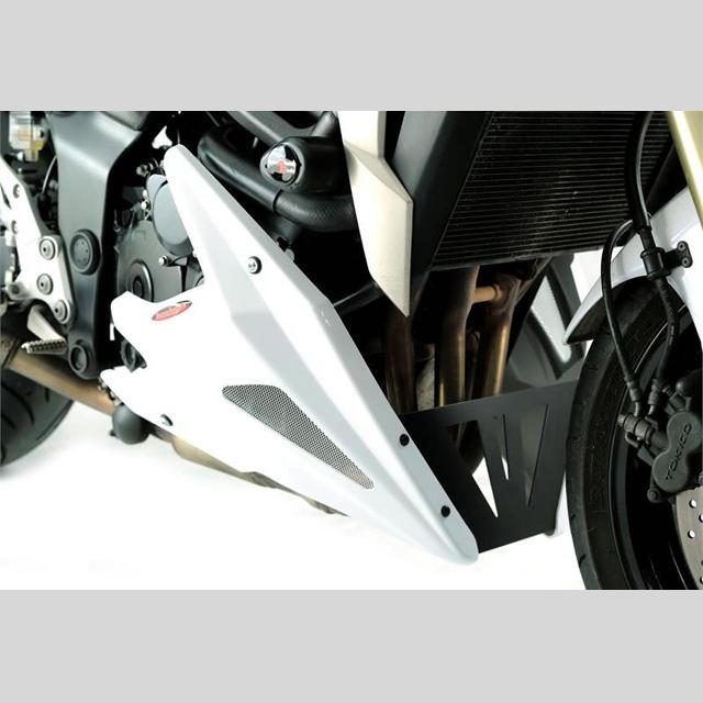 Power bronze パワーブロンズ 320-S116-603 アンダーカウル GSR750(11- ) ブラック/シルバー