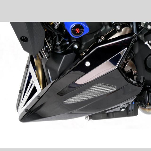 Power bronze パワーブロンズ 320-Y114-680 アンダーカウル MT-07/XSR700(16- ) カーボンルック/シルバーメッシュ