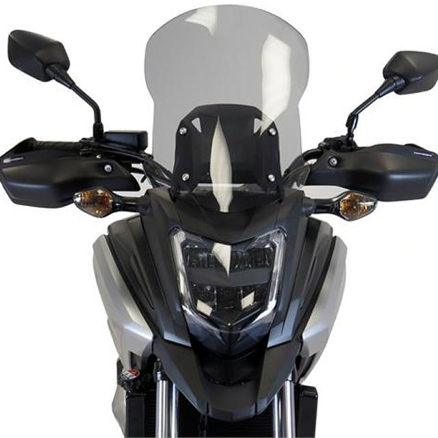 Power bronze パワーブロンズ 420-H151-001 アドベンチャースクリーン NC750X(16-17) L.450 ライトスモーク