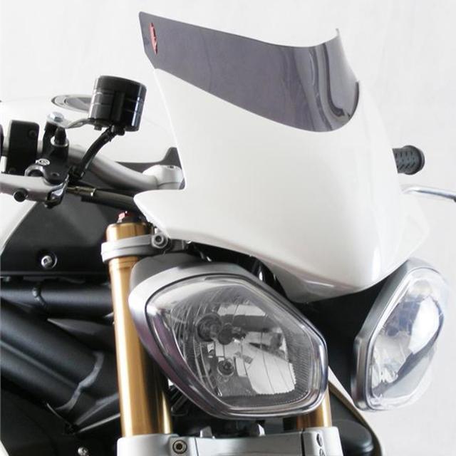 Power bronze パワーブロンズ 430-U152-002 ネイキッドスクリーン TRIUMPH SpeedTriple(12-16) ダークスモーク