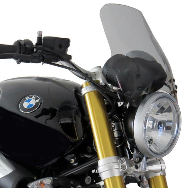 Power bronze パワーブロンズ 430-U212-001 ネイキッドスクリーン BMW R nineT(14-16) L.300 ライトスモーク