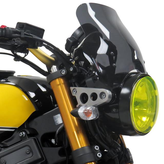 Power bronze パワーブロンズ 430-U213-002 ネイキッドスクリーン XSR900(16- ) L.230 ダークスモーク
