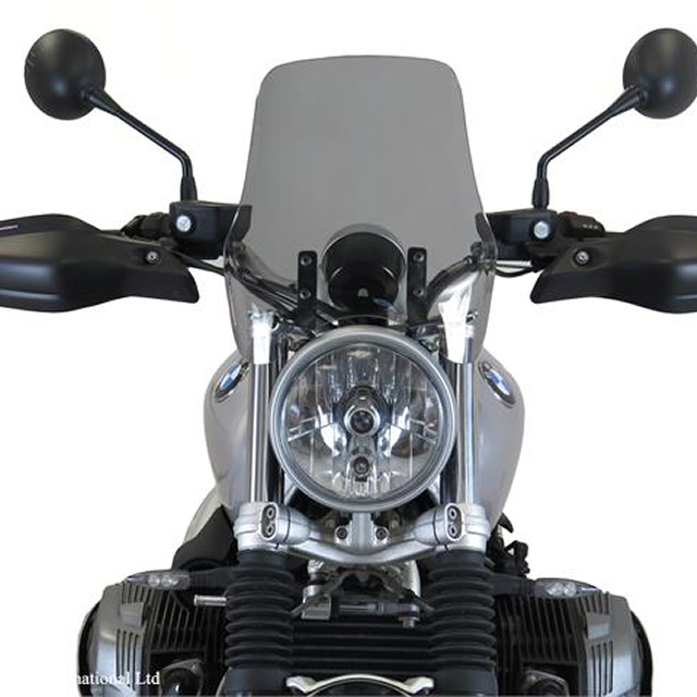 Power bronze パワーブロンズ 430-U219-001 ネイキッドスクリーン BMW R nineT SCRAMBLER(16-17) L.300 ライトスモーク