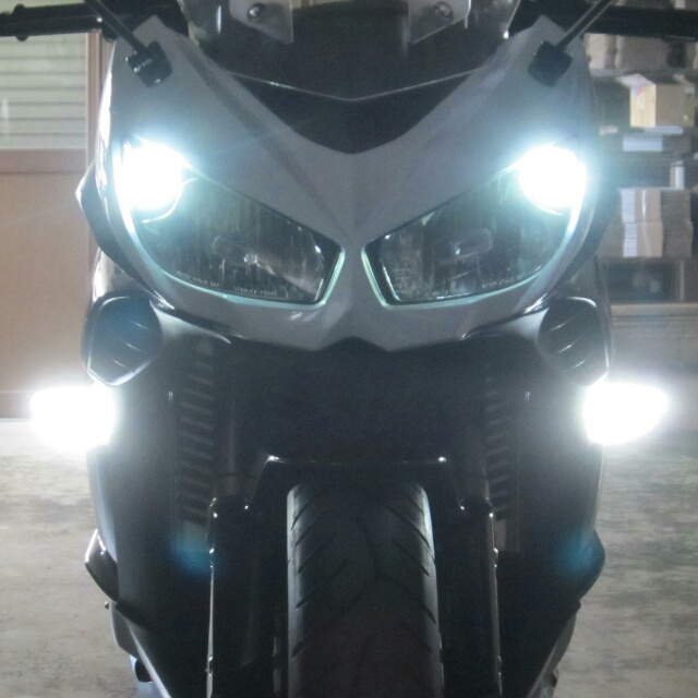 ODAX オダックス OXS-ZXT1001-WY ウィンカーポジション/デイライトキット Ninja1000(11-16) スモークレンズASSY交換